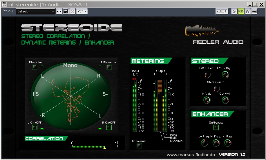 Permalink auf:Stereoide – Stereo enhancing Tool